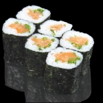 Salmon & Spring Onion Roll