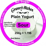 Fresh Plain Yogurt (Sour)