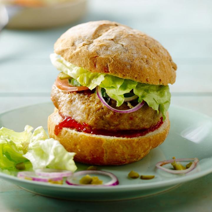 hamburger vegetarian speciall