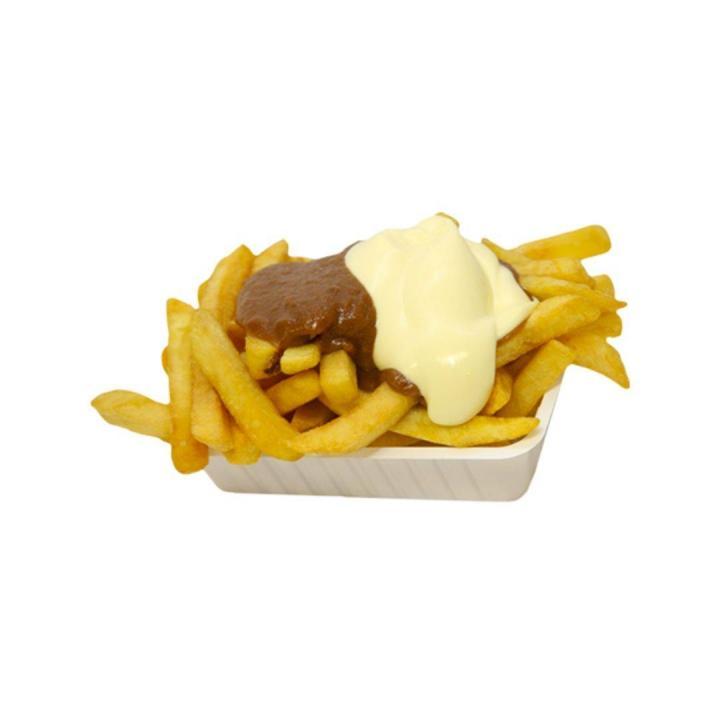 fries flip mayo/peanutsace
