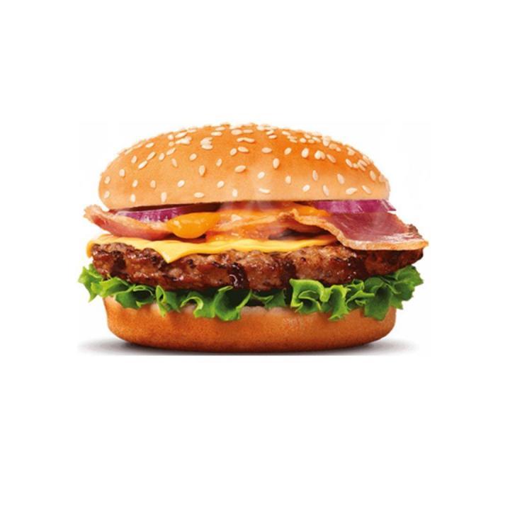 hamburger speciall+ bacon